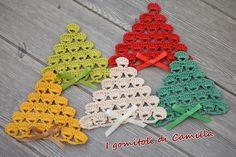 Best 11 Fashionable crochet design of Flower mat – SkillOfKing. Crochet Christmas Decorations, Christmas Bunting, Christmas Tree Pattern, Crochet Christmas Ornaments, Christmas Crafts, Tree Decorations, Crochet Ornament Patterns, Crochet Snowflake Pattern, Christmas Crochet Patterns
