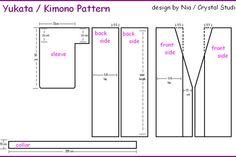 Kimono pattern, easy.