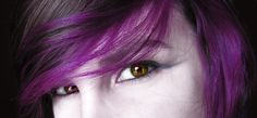 purple hair | Purple Hair by littlehippy on deviantART