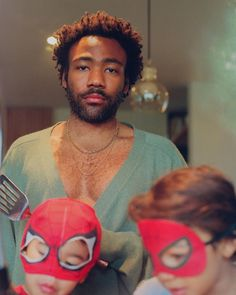by Childish Gambino Triple J, Handsome Male Models, Boys Don't Cry, Donald Glover, Indie Kids, Cool Animations, Music Photo, My Escape, Afro Hairstyles