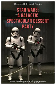 If you have a Star Wars lover in your family, you should book Star Wars: A Galactic Spectacular Dessert Party at Disney's Hollywood Studios.  This party includes food, drinks, and a prime viewing area for the fireworks show, Star Wars: A Galactic Spectacular!