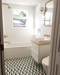 Before & After: A DIY Bathroom Disaster is Made Good Again