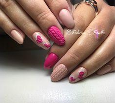 #nails #wooleffect #winternails