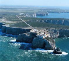 Lighthouse Cabo de São Vicente, Sagres. Vila do Bispo, Algarve, Portugal GEWEEST…