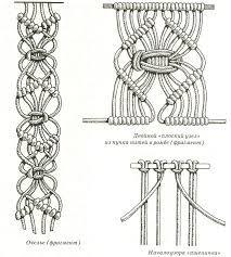 Картинки по запросу макраме схемы плетения