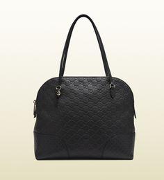 bree guccissima leather shoulder bag