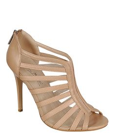 Look what I found on #zulily! Nude Rapture Pump by Bamboo #zulilyfinds