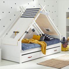 Cool Kids Furniture produziert trendige und funktionale Kinderzimmer mit hoher Qualität. Alle Möbel werden in der Fabrik in Dänemark handgefertigt. Boy Room, Kids Room, Toddler Room Decor, Superhero Kids, Children's Place, Bunk Beds, Cool Kids, Baby Kids, Toddler Bed