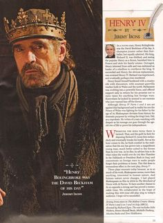 The Hollow Crown: Henry IV - Radio Times Article, Page 2