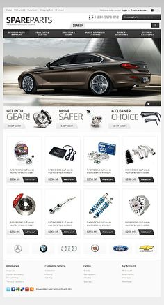 Cars OpenCart Template # 38753