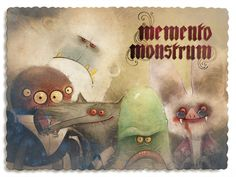 "Dear friends!  My Kickstarter project ""Memento Monstrum"" is live now!  Support my Kickstarter and get a vintage photo album of my monster friends and me here:  http://www.memento-monstrum.com  Looking forward to see you there,  your friend D."