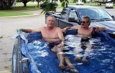 redneck swimming pool