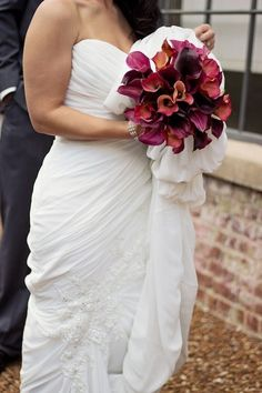 Villa-Style Atlanta Wedding at Summerour Studio from Lemiga Events (photo: Whitney Huynh) - bridal bouquet idea