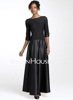 Mother of the Bride Dresses - $157.59 - A-Line/Princess Scoop Neck Floor-Length Charmeuse Mother of the Bride Dresses With Ruffle (008006112) http://jenjenhouse.com/A-line-Princess-Scoop-Neck-Floor-length-Charmeuse-Mother-Of-The-Bride-Dresses-With-Ruffle-008006112-g6112