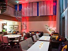Radisson Blu Seaside Hotel in Ruoholahti, Helsinki. Katto Sauna & Lounge for meetings and special events Visit Helsinki, Beautiful Buildings, Finland, Summer Time, Seaside, Lounge, Special Events, Home Decor, Airport Lounge