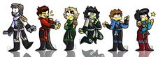 Friends ninjago