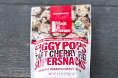 They say food is energy — and FiggyPops are here to prove it. So when you hit the trails, the books, the party or the daily nine-to-five, don't get caught hungry. Remember: where there's Made In Nature, there will be snacks.  REAL FOOD FROM REAL ENERGY ORGANIC MAPLE SYRUP SUPERFUELED