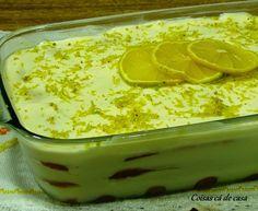 Coisas cá de casa: Pavê de limão siciliano
