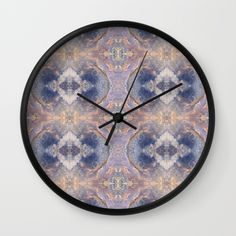 """Soft Starlight Wall Clock 