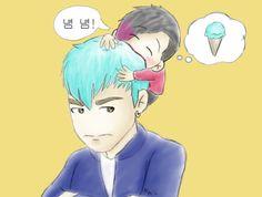 T.O.P  Awww so cute ^.^