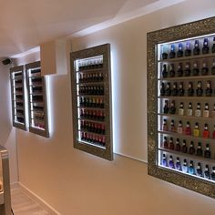 glamorous storage solutions for salons designed and created by chicybee