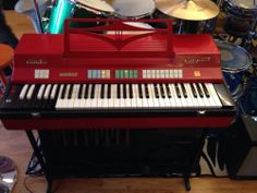 Vintage Farfisa Combo Compact Organ Super Clean With All Original Pedals Oh Baby