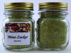 Grüner Pfefferminzzucker 5