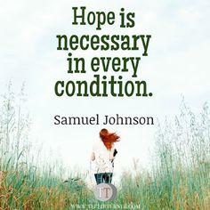 Quotes of the Day www.teelieturner.com H.O.P.E... #inspirationalquotes