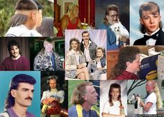 Hairstyles from the 80's