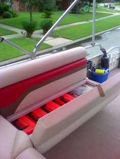 Pontoon Under Boat Storage Ideas