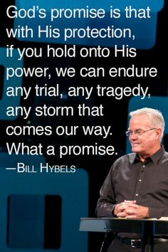 """From Senior Pastor Bill Hybels' message """"Why?"""" on May 4/5, 2014. #WillowCreek"""