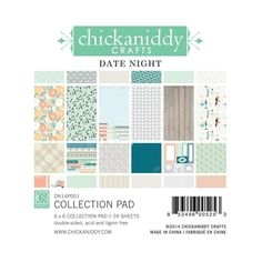Chickaniddy Crafts - Date Night Collection - 6 x 6 Paper Pad at Scrapbook.com