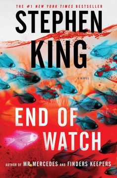MYSTERY & THRILLER: End of Watch by Stephen King. While Bill Hodges and his partner investigate a suicide with ties to the Mercedes Massacre, Brady Hartsfield, the Mercedes killer, is manifesting a new power that allows him to kill without leaving his hospital room.