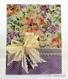 card by Kittie Caracciolo using paper from Graphic 45