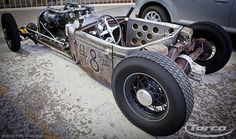Flathead Packard Straight-Eight Roadster.