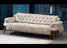 Wooden Sofa Set Designs, Modern Sofa Designs, Cream Living Rooms, Living Room Sets, Corner Sofa Design, Bed Design, Sofa Furniture, Furniture Design, Luxury Sofa