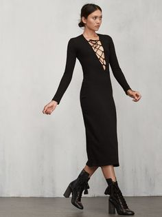 THIS ITEM WILL SHIP SEPTEMBER 2nd. S&M plus a dress all in one. The Edison Dress. https://www.thereformation.com/products/edison-dress-black?utm_source=pinterest&utm_medium=organic&utm_campaign=PinterestOwnedPins