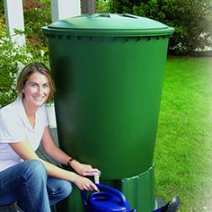 Round Rain Barrel - 135 Gallons