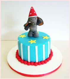 torta circo elefante