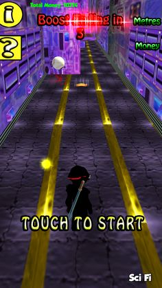 """Run for it is a new running game from CoZ Games.      Run, jump, dodge and slide to avoid obstacals     Collect coins and treasures to boost your score     Use boost pads to reach amazing speeds     Fight guardians of each zone     Play """"marathon mode"""" an endless run through all the zones, how long can you last  In development and coming soon to Android!"""