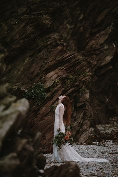 English moody wedding at Port Eliot estate and coast in Cornwall