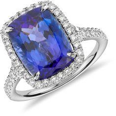 ashok sancheti jewelry | Ashok Sancheti - Ashok Sancheti Lotus Blossom Tanzanite and Diamond Ri ...
