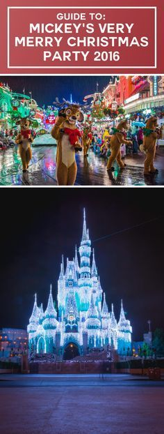 Guide To Mickey S Very Merry Christmas Party 2017