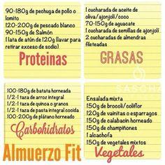 almuerzo fit by Sascha Barbosa #saschafitness