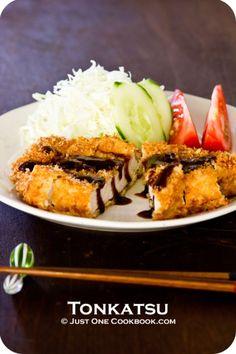 Tonkatsu (porc) Recette | Recettes faciles japonais à Just One Cookbook