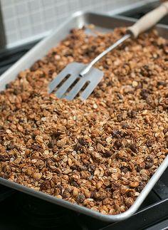 Peanut Butter and Chocolate Chip Granola by David Lebovitz, via Flickr