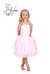 Fairy Kisses - Ballerina Dress (Baby Pink): Size L (8-9). $52.80