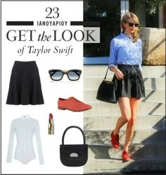 Get the look: Το πρωινό girly look της Taylor Swift