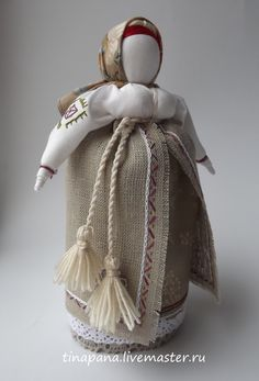 """Народные куклы ручной работы. Ярмарка Мастеров - ручная работа """"Достаточница"""". Handmade."""