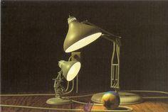 Luxo Jr. Filme Image (Pixar Animations Studios)